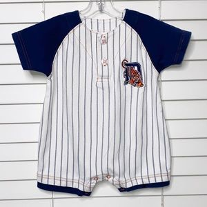 Detroit Tigers Onesie Striped